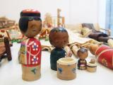 Mohor Demšar, lesene igrače, foto RC DUO Škofja Loka